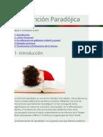 La Intención Paradójica