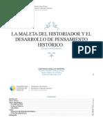 Didactica de la Historia, Tabajo de fuentes