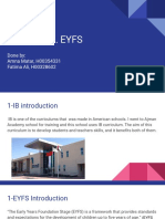 presentation assesment 2 theories ib eyfs