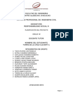 (670368567) Ayacucho Creación El Distrito Andrés AvelinoCaceres Proyecto de Extensión Clevert Clinton Torre de La Cruz Responsabilidasd Social VI Civil 1