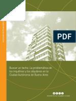 Benitez - Buscar Un Techo. La Problemática de Los Inquilinos y Los Alquileres en La Ciudad Autónoma de Buenos Aires