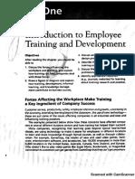 Adiestramiento y desarrollo Capítulo 1