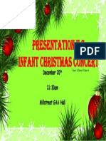 christmas concert poster