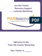 PARfessionals Train the Trainers Program