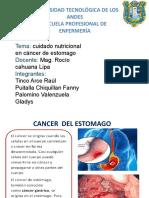 Cuidado Nutricional Cancer de Estomago