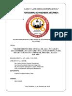 Informe Examen de Suficiencia Financiera