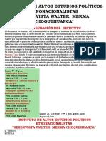 Instituto de Altos Estudios Políticos Etnonacionalistas