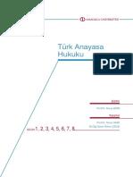 Türk Anayasa Hukuku Hazırlık Kitabı