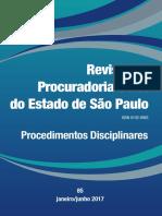 Revista PGE n. 85 - Procedimentos Disciplinares