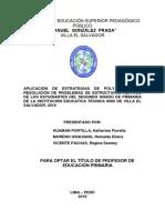 Tesis Estrategias de Polya Resolución 2-08-2016