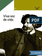 Viva Voz de Vida - Marina Tsvietaieva