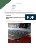 Informe Laptop Geologo Maria Jose