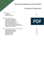 Conference Preparation 1
