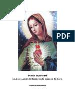 Isabel Kindelman Diario Espiritual Llama de Amor Del Inmaculado Corazc3b3n de Marc3ada 1961 198129