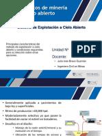Fundamentos de Mineria  a CIELO ABIERTO