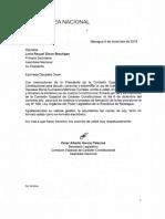 Ley de Justicia Constitucional nicaragüense