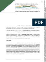 Ação Contra Ricardo Salles Jacupiranga