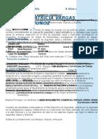 Curriculum-Vitae Ing. Patricia Vargas 2018