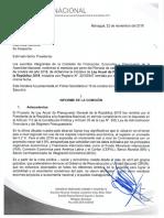 Dictamen Ley Anual de PGR 2019