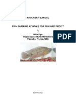 Hatchery Manual for Fish