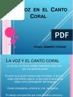La Vozen El Can to Coral