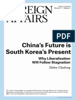 China's Future is South Korea's Present F.a.