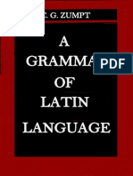 A grammar of the latin language ZUMPT