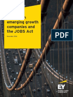 Ey Update on Emerging Growth Companies and the Jobs Act November 2016