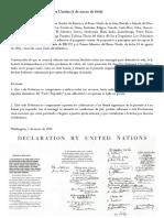 4. Declaración de Las Naciones Unidas 01.1942