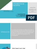 9. Ing. Civil - Técnicas e Instrumentos de Recolección de Datos