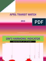 April Transit Watch
