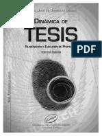 DINÁMICA DE TESIS DE JULIO DOMINGUEZ GRANDA