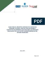 guías contables derivados