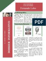 ENCUENTRO CON AUTORES. Dossier Informativo. Fernando Lobo