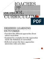 Approachesaboutschoolcurriculum 151125133726 Lva1 App6892 Converted