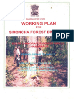 Sironcha Forest Division at Allapalli South Chandrapur Forest Circle, Chandrapur for The Period 2005-06 to 2014-15
