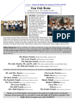 Cox News Volume 8 Issue No. 14