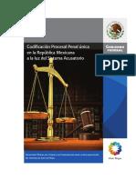 Codificacion Procesal Penal Unica en La Republica Mexicana a La Luz Del Sistema Acusatorio. Eduardo Ferrer Ruben Sanchez