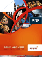 Sanraa Media Annual Report 2009 2010