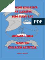 PREPARADOR DE ARTISTICA 5°