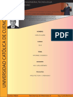 Informe Congreso de Ingenieria
