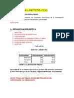 Estadistica Descriptiva y Estadistica Inferencial Resumen