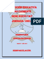 PREPARADOR C. NATURALES 5°.
