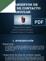 Rodamientos de Contacto Angular