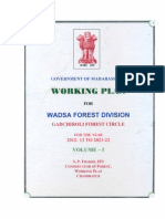 Wadsa Forest Division Gadchiroli Forest Circle For the Year 2012-13 to 2021-22 - Vol 1.