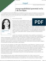 Alcances de la corresponsabilidad parental en la educación formal de los hijos - EML