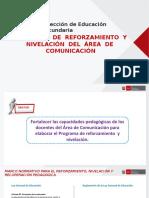 Ppt Reforzamiento y Nivelacion_comunicacion