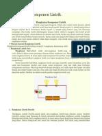 materi rangkaian listrik