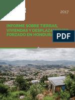 Informe sobre Desplazamiento forzado en Honduras