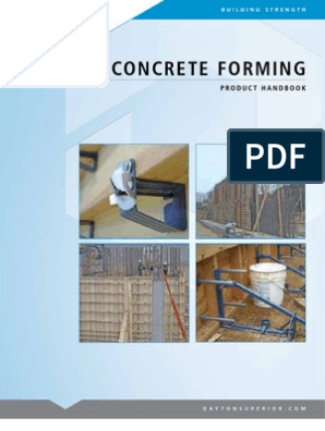 Concrete Forming Handbook | Safety | Structural Load